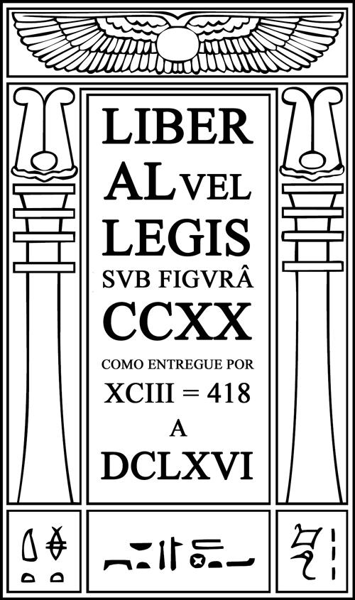 O Livro da Lei, Liber AL vel Legis