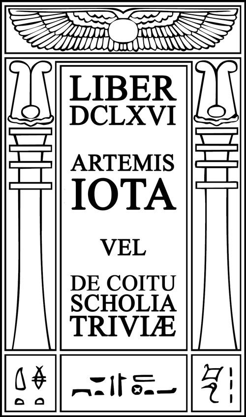 Artemis Iota vel de Coitu Scholia Triviæ