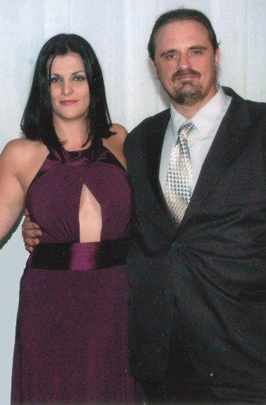 Francisco Marengo e sua esposa, Giselle Galvão
