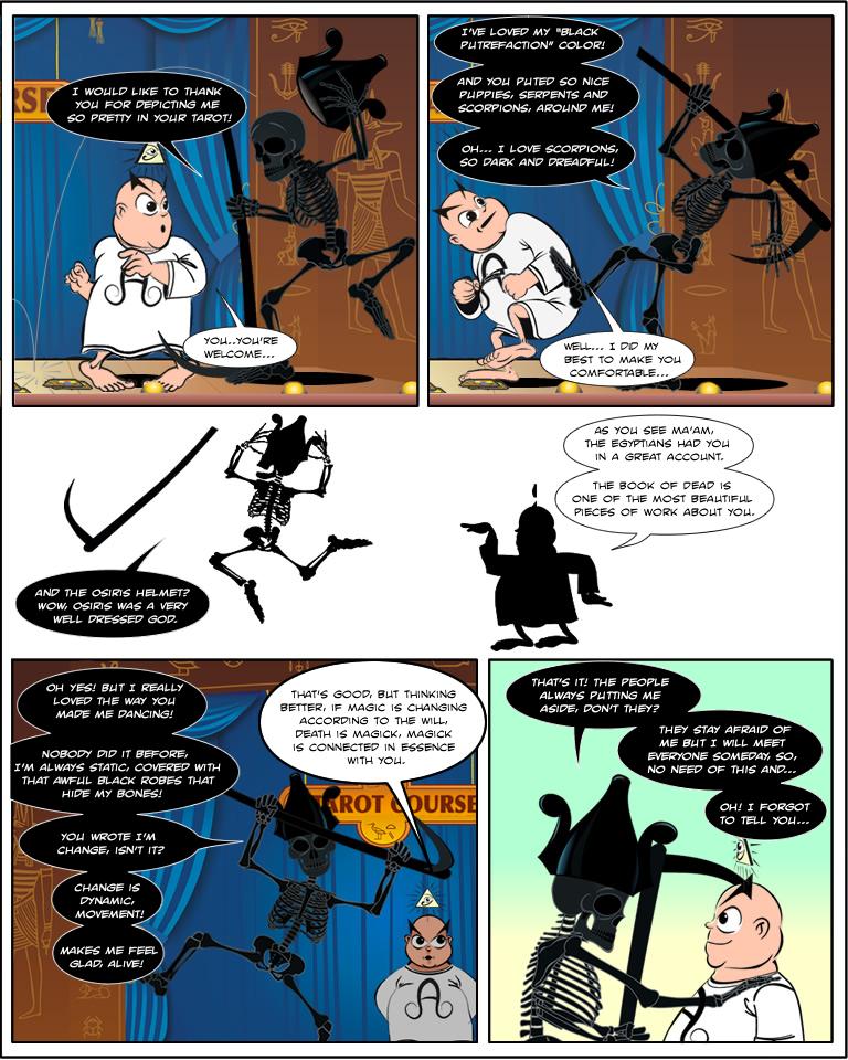 Aleister Crowley in: Facing Death por Herman Faulstich, parte 2