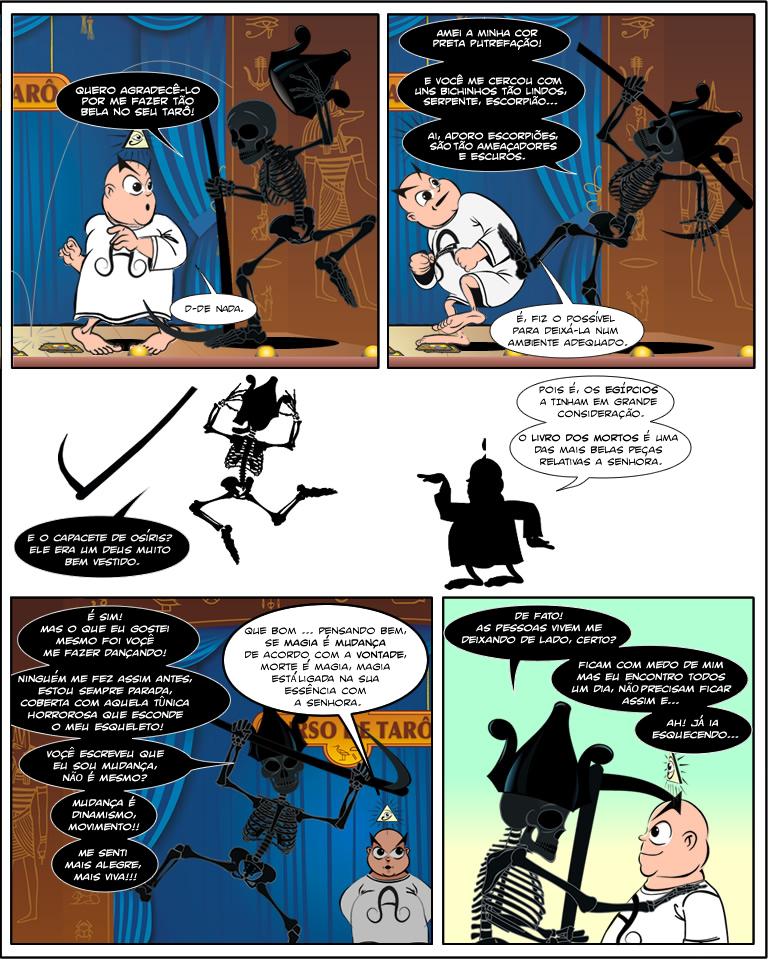 Aleister Crowley em: Encarando a Morte por Herman Faulstich, parte 2