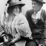 Aleister Crowley - cca. 1904 e.v. - Com sua esposa, Rose Edith Kelly