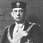 Aleister Crowley - cca. 1916 e.v. - Como Baphomet Xº O.T.O.