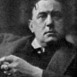 """Aleister Crowley - cca. 1916 e.v. - Foto publicada em """"The Fatherland"""""""