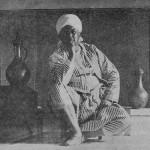Aleister Crowley - cca. 1923 - Na Tunísia