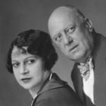 Aleister Crowley - cca. 1928 e.v. - Com Maria Teresa Ferraru de Miramar