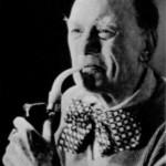"""Aleister Crowley - cca. 1942 e.v. - Retrato do """"Fun of the Fair"""""""
