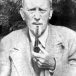 "Aleister Crowley - cca. 1945 e.v. - Em ""Netherwood, Hastings"""
