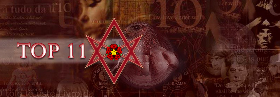 TOP 11: Frases Anti Crowley por Aleister Crowley