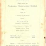 Revista Gnose, Volume IV n° 8, da Fraternitas Rosicruciana Antiqua F.R.A. - Capa 2
