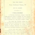 Revista Gnose, Volume IV n° 8, da Fraternitas Rosicruciana Antiqua F.R.A. - Contracapa 1