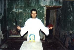 Humberto Maggi na Abadia de Thelema