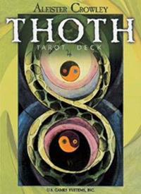 Thoth Tarot Deck (78 cartas, médio)